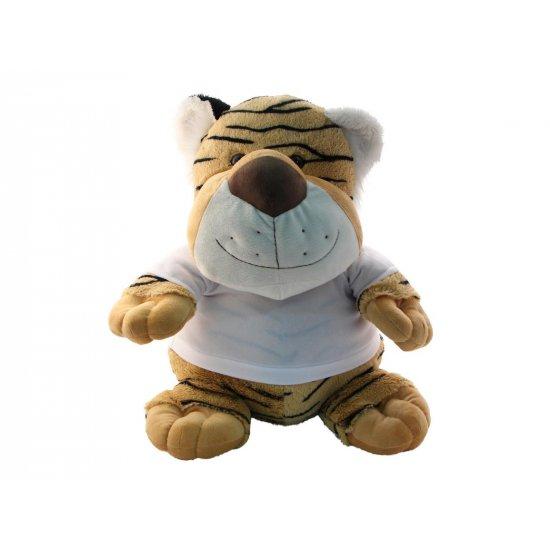 tijger knuffel bedrukken
